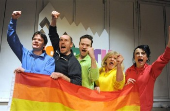 Sochi 2014, Hope Theatre, London, review