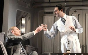 Strangers On A Train, Gielgud Theatre, London, until February 22.